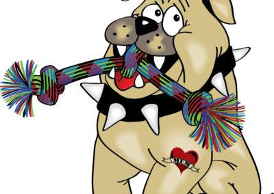 Tuff Dog Toys Illustration