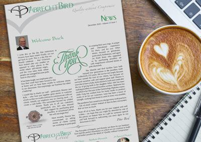 Abrecht Bird Newsletter