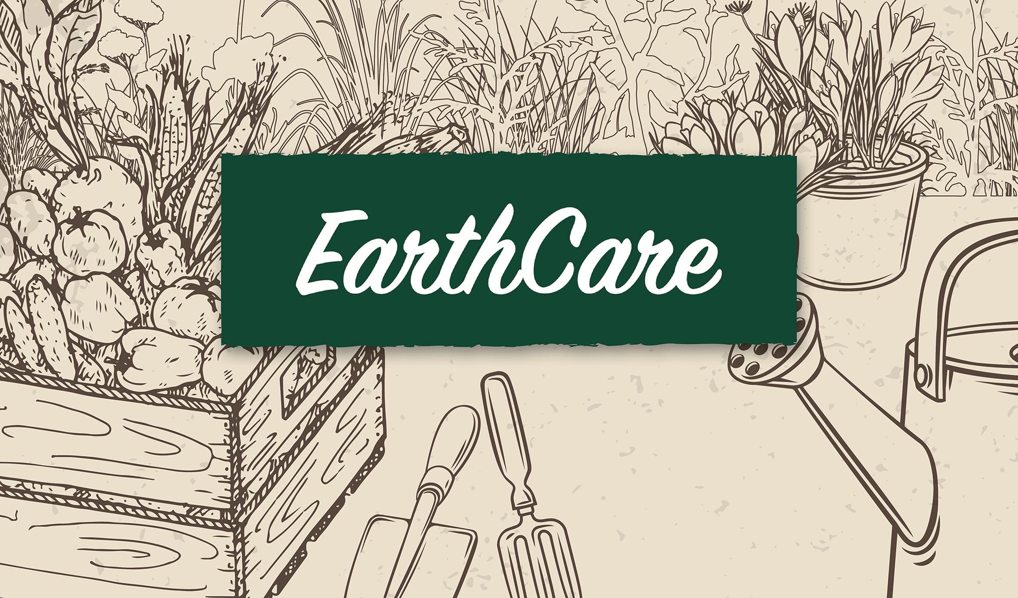 EarthCare Brand Design Header