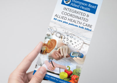 Thompsons Road Clinic Allied Health Flyer