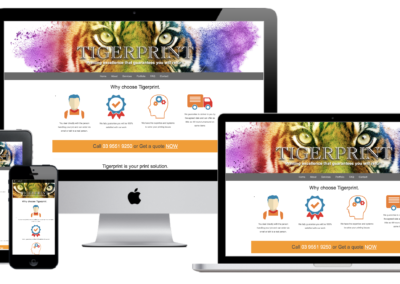 Tigerprint Website Design