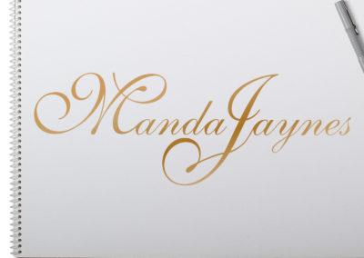 Manda Jaynes Logo Design