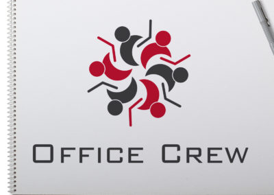 Office Crew Logo Design