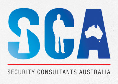 Security Consultants Australia Logo Design